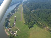 Riverside Airport (OH36) - Looking down RWY 21 during the EAA fly-in breakfast and Young Eagles event. - by Bob Simmermon
