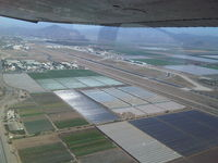 Camarillo Airport (CMA) - Departing Right Crosswind, Rnwy 26 in N1748D - by Mark Holdridge