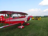 Forest Field Airport (9OH9) - Planes gathering for the TOPA cookout. - by Bob Simmermon