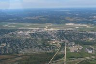 Wright-patterson Afb Airport (FFO) - Looking NW - by Bob Simmermon
