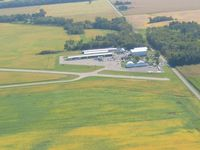 Sidney Municipal Airport (I12) - Looking east - by Bob Simmermon