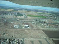 Imperial County Airport (IPL) - Turning Right Base for Rwy32 - by COOL LAST SAMURAI