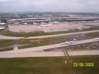 Paris Charles de Gaulle Airport (Roissy Airport), Paris France (LFPG) - Terminal 2 (from south) - by Erdinç Toklu