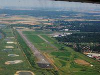 Le Touquet-Paris-Plage Airport - Le Touquet-Paris-Plage from North-West - by Erdinç Toklu