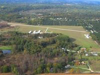 Lowell City Airport (24C) - Looking north - by Bob Simmermon