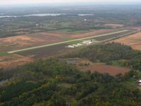Hillsdale Municipal Airport (JYM) - Looking SW - by Bob Simmermon