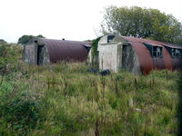 City of Derry Airport - Old nissen huts at the former Royal Navy Air Station Eglinton (North Ireland) - by Joop de Groot