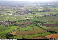 RAF Leeming Airport, Leeming Bar, England United Kingdom (EGXE) - RAF Leeming, UK - the southern end. - by Malcolm Clarke