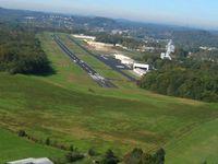 Gatlinburg-pigeon Forge Airport (GKT) - Base for RWY 28 - by Bob Simmermon