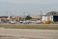 Son Bonet Aerodrome Airport, Palma de Mallorca Spain (LESB) - A few visitors at Son Bonet. - by MikeP