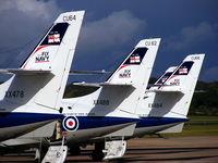 RAF Shawbury Airport, Shawbury, England United Kingdom (EGOS) - SA Jetstream T2, Royal Navy, 750 NAS - by Chris Hall