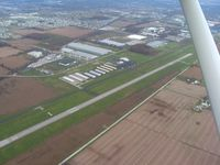 Delaware Municipal - Jim Moore Field Airport (DLZ) - Looking NE - by Bob Simmermon