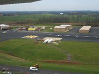 Georgetown Scott County - Marshall Fld Airport (27K) - General aviation ramp, hangers and fuel farm. - by Bob Simmermon