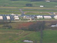 Georgetown Scott County - Marshall Fld Airport (27K) - Looking NE on downwind for 21 - by Bob Simmermon