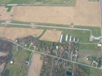 Reese Airport (7I2) - Looking north from 2500' - by Bob Simmermon