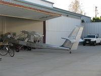 Santa Paula Airport (SZP) - Experimental class aircraft in build - by Doug Robertson