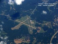 Hardy-anders Field Natchez-adams County Airport (HEZ) - On the way to Orlando Sanford from Shreveport Regional. - by paulp