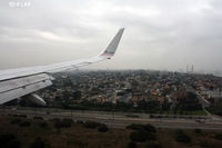 Los Angeles International Airport (LAX) - coming for touch down @ LAX - by Dawei Sun