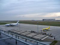 Leipzig/Halle Airport, Leipzig/Halle Germany (EDDP) - View over the APRON - by Holger Zengler