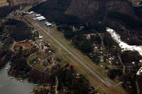 Lake Norman Airpark Airport (14A) - Lake Norman Airpark, looking South. - by Jamin