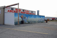 Rialto Municipal /miro Fld/ Airport (L67) - Paint Shop - by Marty Kusch