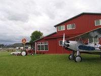Gillespie Field Airport (SEE) - Residential hangars - by Marty Kusch
