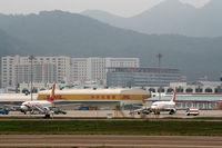 Shenzhen Bao'an International Airport, Shenzhen, Guangdong China (ZGSZ) - DHL - by Dawei Sun