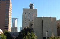 St. Joseph Medical Center Heliport (XA67) - Christus St Joseph Hospital Heliport - Houston, TX (as seen from I-45 northbound)  - by Zane Adams