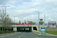 Tegel International Airport (closing in 2011), Berlin Germany (EDDT) - Entrance of Airport Berlin-Tegel (TXL) - by Holger Zengler