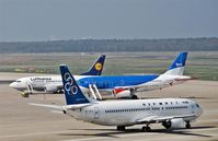 Tegel International Airport (closing in 2011), Berlin Germany (EDDT) - View to southern APRON - by Holger Zengler
