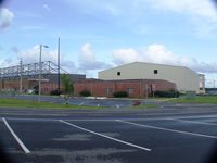 Cecil Airport (VQQ) - Cecil New Hangar construction - by Jim Kelly