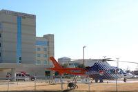 Denton Regional Medical Ctr - Flow Campus Heliport (TS58) - Care Flite at the Denton Regional Medical Center - by Zane Adams