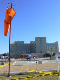 Denton Regional Medical Ctr - Flow Campus Heliport (TS58) - Care Flite at the Denton Regional Medical Center - by Zane Adams