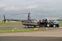 Leeds Bradford International Airport - Refuelling at Leeds Bradford Airport in 2006. - by Malcolm Clarke