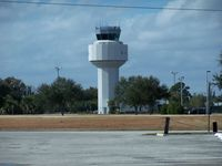 Vero Beach Municipal Airport (VRB) - vrb control tower - by simkatu