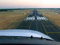 Sacramento Executive Airport (SAC) - Short final, runway 20. - by Chris Saulit
