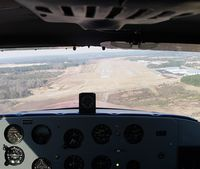 Heart Of Georgia Regional Airport (EZM) - Short final RWY02 at EZM.  Cockpit of N5195P. - by J. Michael Travis