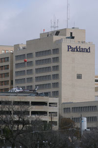 Parkland Health & Hospital System Heliport (TE43) - Parkland Memorial Hopspital - Dallas, TX - by Zane Adams