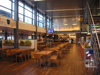Rotterdam Airport, Rotterdam Netherlands (EHRD) - Rotterdam Airport departure lounge - by Henk Geerlings