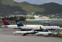 Princess Juliana International Airport, Philipsburg, Sint Maarten Netherlands Antilles (TNCM) - The bravo ramp cant take no more!!!!! - by Daniel Jef