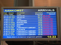 Rotterdam Airport - all flights cancelled due to vulcano-eruption - by ghans