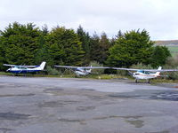Bodmin Airfield - Cessna's at Bodmin Airfield - by Chris Hall