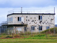 Dunkeswell Aerodrome - Former WWII tower at Dunkeswell Airfield - by Chris Hall