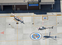 Lapd Hooper Heliport (4CA0) - Landing at Hooper Heliport  - by Marty Kusch