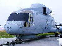 RNAS Culdrose Airport, Helston, England United Kingdom (EGDR) - Merlin at the School of Flight Deck Operations at RNAS Culdrose - by Chris Hall