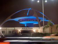 Los Angeles International Airport (LAX) - Spider of LAX - by ghans