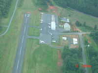 Montgomery County Airport (43A) - runway 21 and ramp area - by Lee Nordan