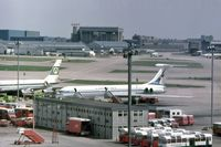 London Heathrow Airport, London, England United Kingdom (EGLL) - A view from The Queens Building across Heathrow Airport in 1975. - by Malcolm Clarke