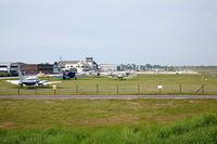 Shoreham Airport, Shoreham United Kingdom (EGKA) - Shoreham Airport, West Sussex, UK - by John Pitty
