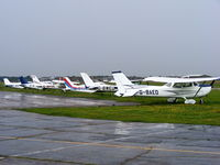 Sandtoft Airfield Airport, Scunthorpe, England United Kingdom (EGCF) - Sandtoft Airfield - by Chris Hall